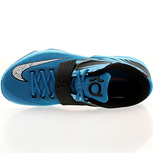 Kd Vii Mens scarpe da basket 653996-030 Black Lime grigio-8 M Us Lt Bl Lcqr, White-clrwtr-ttl Or