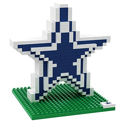FOCO NFL Dallas Cowboys Mini BRXLZ Logo Building Blocks, One Size, Blue
