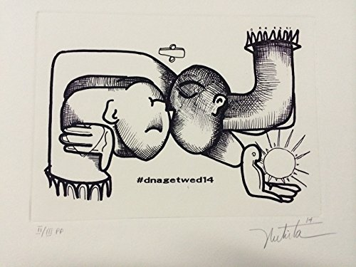 Alexandra Nechita Original Hand Signed Etching RARE Limited Edition 2/3 COA