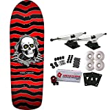 Powell-Peralta Skateboard Complete Old School Ripper Red Re-Issue