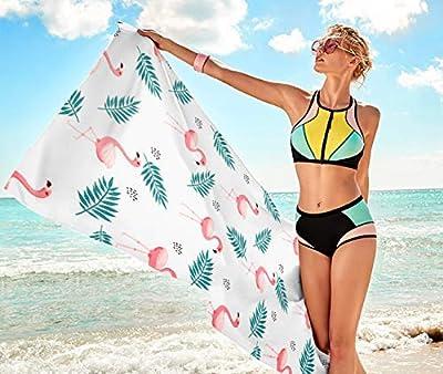 Print Flamingo Beach Towel