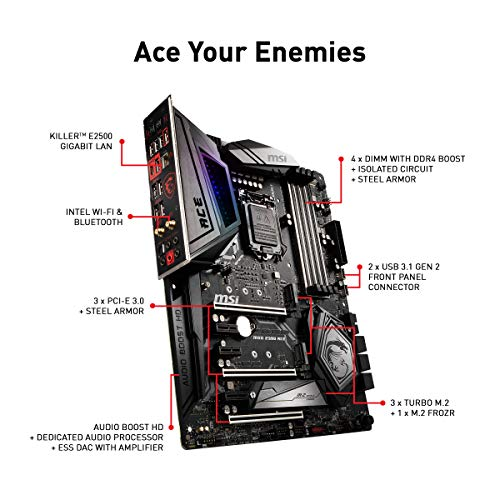 Build My PC, PC Builder, MSI MEG Z390 ACE