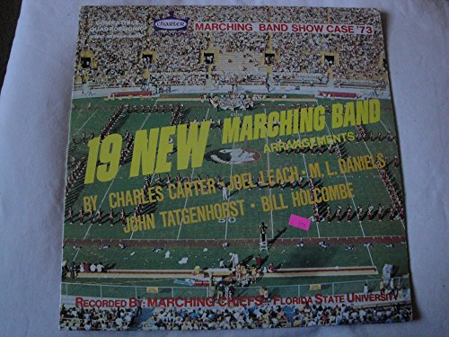 Marching Chiefs Florida State University Marching Band Show Case '73 19 New Arrangements Vinyl (Marching Band Arrangement)