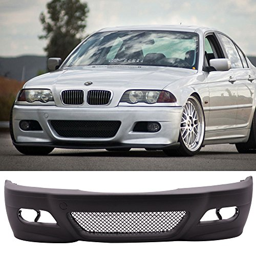 Fit 99-05 BMW E46 3 Series 4Door M3 Style Front Bumper Conversion Bodykit – PP