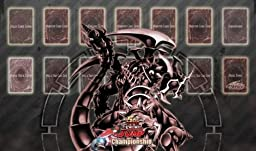 YUGIOH MAT DARK ARMED DRAGON PLAYMAT GAME MOUSE PAD DAD [Toy]