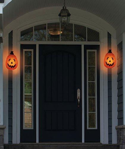 Pumpkin Porch Light