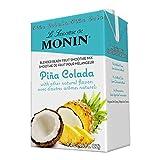 Monin Pina Colada Smoothie Mix (Case of 6 - 46 oz Cartons)