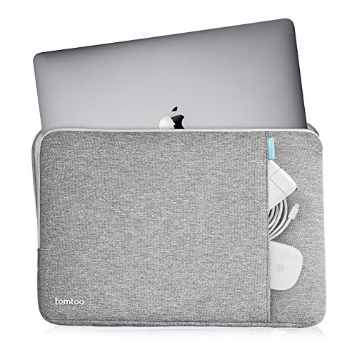 Tomtoc-360-Protective-Sleeve-for-15-Inch-New-MacBook-Pro-Retina-with-Touch-Bar-2017-2016-A1707-Shockproof-Spill-Resistant-15-Inch-Laptop-Case-Tablet-Bag-Gray