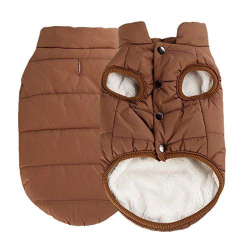 Iguana Dog Costume (Pet Dog Winter Warm Clothing Fleece Jacket Coat Puppy Cat Sweater Vest Costume)
