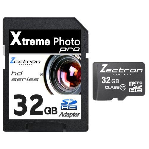 Zectron Digital 32GB Micro SD SDHC Memory Card SD SDHC FOR Nikon Coolpix P510 CAMERA