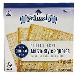 Yehuda Matzo Squares Gluten-Free 10.5 Ou...