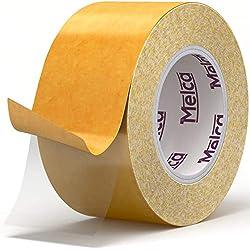 Melca Anti Scratch Cat Tape - Clear Cat Scratch Tape (10 Yd, 2.5 Inch) Cat Training Tape