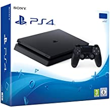 Console Playstation 4 PS4 Slim 1TB + 1 Ano de Garantia + 20 Jogos + STAR WARS BATTLEFRONT II + Bolsa PS4 Personalizada