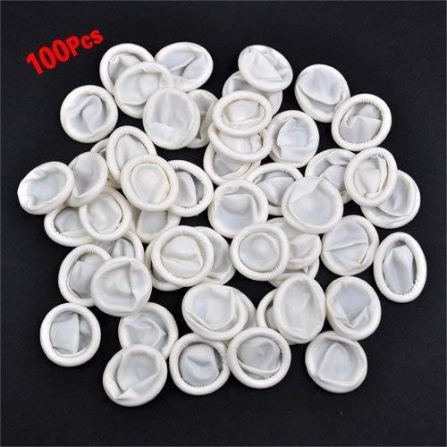 Dcolor100 ps Latex Rubber Finger Cots Finger Protectors Powder by Dcolor (Image #5)