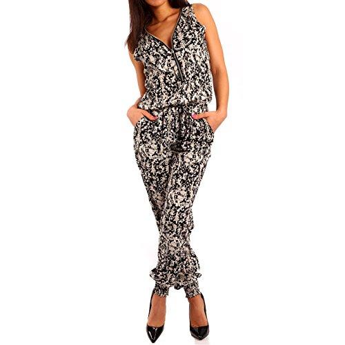 Young-Fashion - Pantalón térmico - relaxed - Paisley - para mujer Mehrfarbig/Model4