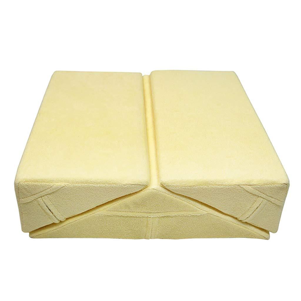 選ぶなら クッション泡ポジショニングパッド付き洗えるジッパーカバー脚の高さバック腰椎サポートトライアングルウェッジピローサポートクッションコンビネーションスリーピース Yellow B07PXVSHSK Yellow B07PXVSHSK, newRYORK(ニューリョーク):7f831a35 --- mail.mrplusfm.net