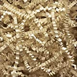 Ivory Crinkle Cut Paper Shred 10 lbs/Case