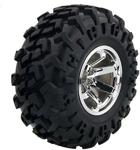 RC 0601 0602 0603-3001 Rubber Tires Wheel Sets For HSP HPI 1:10