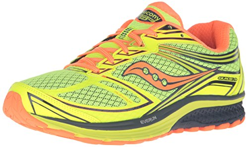 9 Yellow Orange Saucony citron Running Men Shoes Navy Guide 00rEg