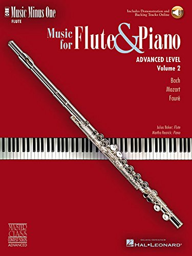 (Music Minus One Flute: Advanced Contest  Solos (Book & CD))