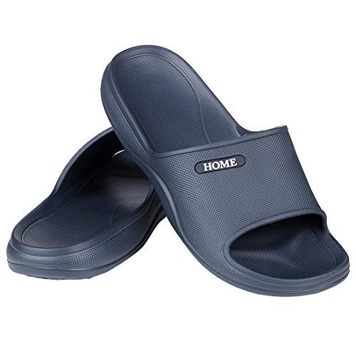 c21f5f545610 Women s Shower Sandal Pool Slides Open Toe House Slippers Lightweight Bath  Slippers
