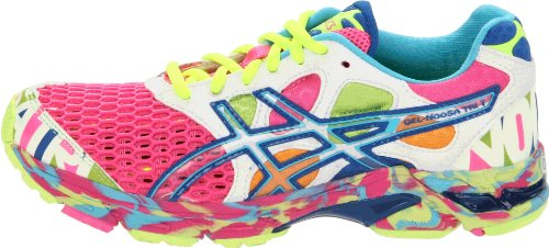 newest 058f2 22655 ... ASICS Womens Gel Noosa Tri 7 Running Shoe,Neon PinkCoralNoosa Glow ...