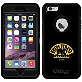 Boston Bruins - Briuns Bear design on Black OtterBox Defender Series Case for iPhone 6 Plus and iPhone 6s Plus