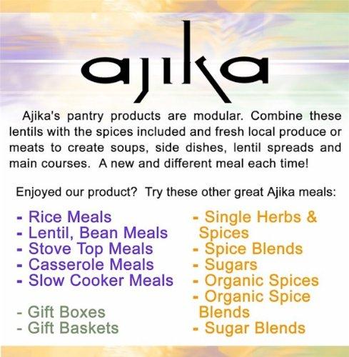 Ajika Masoor Dal Brown Lentils Whole, Earthy, Rich Meaty Flavor, 14-Ounce