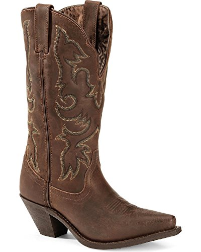 Laredo Womens Tan Goat Leather Access 12in Tall Fashion C...