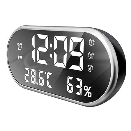 Pantalla Led Digital Temperatura Humedad Reloj Despertador ...