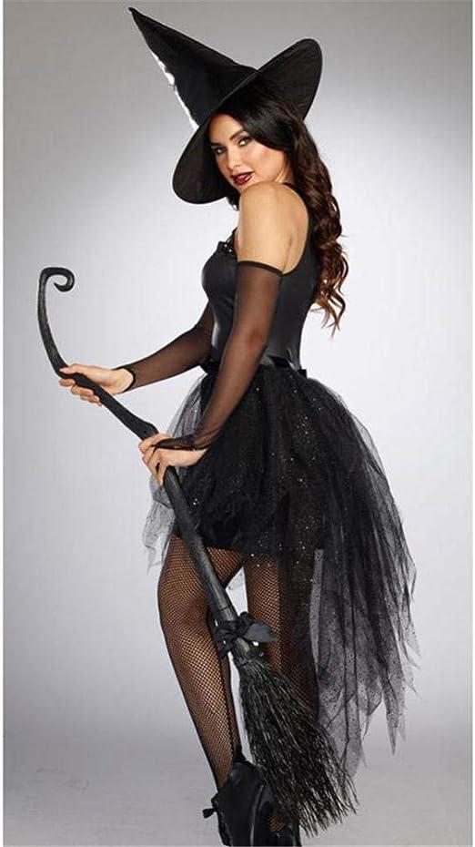 TIANFUSW Disfraz de Bruja para Mujer, Disfraz de Bruja Sexy de ...