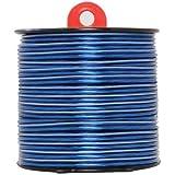 Scosche 50-Feet 16-Gauge Speaker Wire-Blue