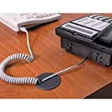 Cord Away - Adjustable Grommet, 2-3/8'' Diameter, Black 00202 (DMi EA