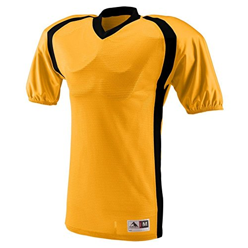 Augusta Activewear Blitz Jersey - Youth, Gold/Black, X Large (Softball Shorts Dazzle Womens)