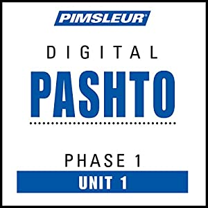 Pashto Phase 1, Unit 01 Audiobook