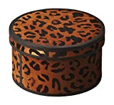 Offex Living Room Handcrafted Distinctive Leather Storage Box - 5.5''H