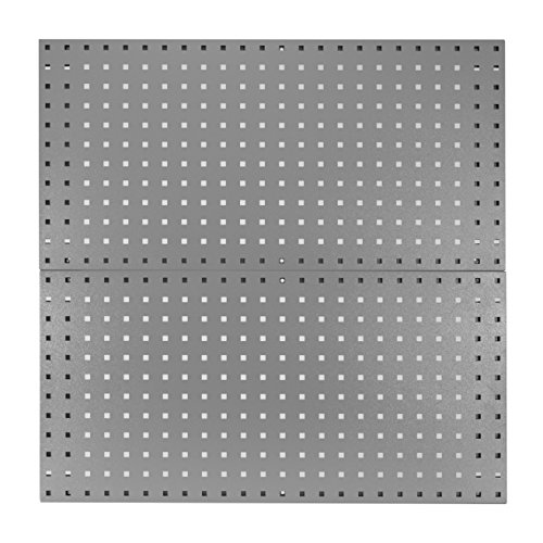 Kennedy Manufacturing 50002UGY 2-Panel Toolboard Set, Utility Gray
