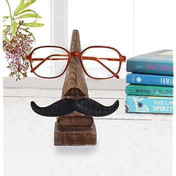 Amazon.com: Soporte de madera en forma de nariz, soporte ...
