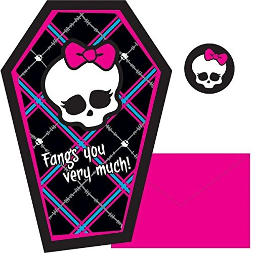 Postcard Thank Yous | Monster High Collection | Party Accessory -