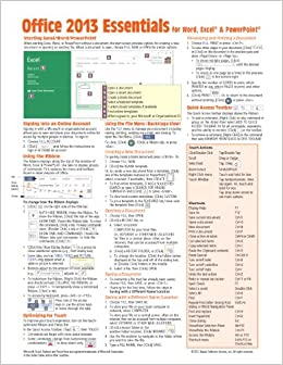 microsoft office 2013 essentials quick reference guide