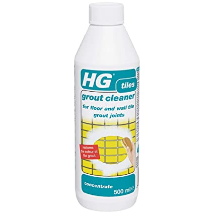 Cool Hg Grout Cleaner Is A Grout Cleaner 500 Ml Concentrated Formula For Floor Wall And Bathroom Tile Grout Interior Design Ideas Philsoteloinfo