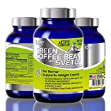Best Pure Green Coffee Bean Extract with SVETOL - 1600mg - Standardized to 50% Chlorogenic Acids - Best Formula for Weight Loss - Women and Men - 100% Guaranteed By Active Laboratory review