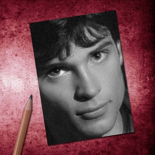 Seasons TOM WELLING - ACEO Sketch Card (Signed by the Artist) #js006
