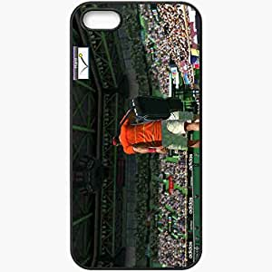 Personalized iPhone 5 5S Cell phone Case/Cover Skin Virtua Tennis 4 Black