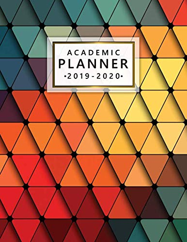 Academic Planner 2019-2020: Nifty Abstract Weekly Monthly Planner Organizer with Inspirational Quotes, To-Do's, Vision Boards, Notes, and More (July 2019-July 2020) ()