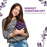 Bible Cover   Book Case/Cover in Purple with