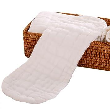 QIAN Bebé pañales de gasa de algodón se pueden lavar pañales de tela de algodón