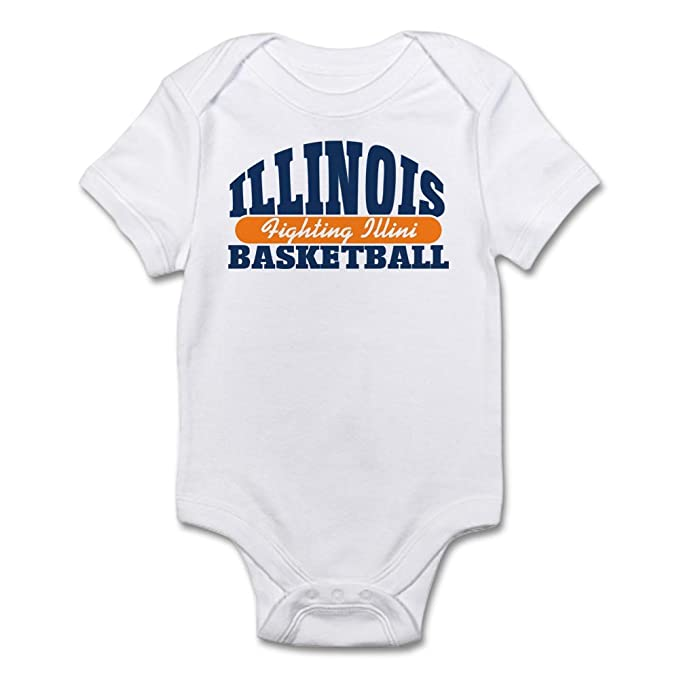 Amazon.com: CafePress Fighting Illini baloncesto bebé – Body ...