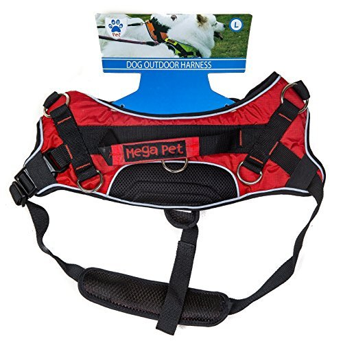 Mega Pet Large Dog Adjustable Harness, Large - Harness Mega