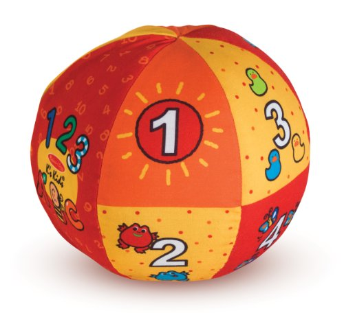 519P14jjPHL - Melissa & Doug K's Kids 2-in-1 Talking Ball Educational Toy - ABCs and Counting 1-10